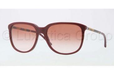 Burberry BE4139 Bifocal Prescription Sunglasses BE4139-331713-5717 - Lens Diameter 57 mm, Frame Color Bordeaux
