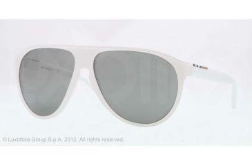 Burberry BE4142 Single Vision Prescription Sunglasses BE4142-33946G-59 - Lens Diameter 59 mm, Lens Diameter 59 mm, Frame Color Top Transp/white