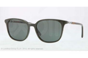 Burberry BE4144 Single Vision Prescription Sunglasses BE4144-339271-54 - Lens Diameter 54 mm, Lens Diameter 54 mm, Frame Color Dark Green