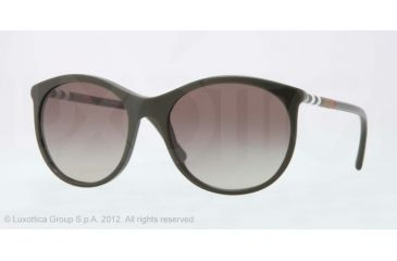 Burberry BE4145 Progressive Prescription Sunglasses BE4145-33928E-55 - Lens Diameter 55 mm, Lens Diameter 55 mm, Frame Color Dark Green