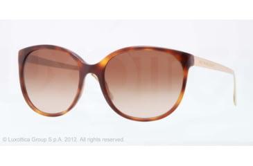 Burberry BE4146 Single Vision Prescription Sunglasses BE4146-331613-55 - Lens Diameter 55 mm, Lens Diameter 55 mm, Frame Color Havana