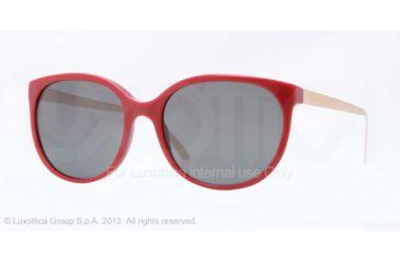 Burberry BE4146 Single Vision Prescription Sunglasses BE4146-343187-55 - Lens Diameter 55 mm, Frame Color Red