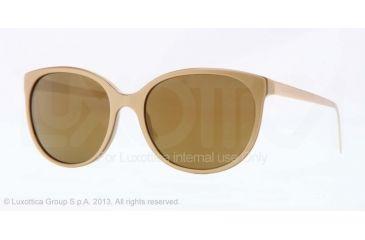 Burberry BE4146 Single Vision Prescription Sunglasses BE4146-34325A-55 - Lens Diameter 55 mm, Frame Color Top Gold/mustard