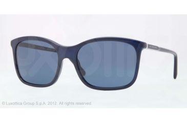 Burberry BE4147 Single Vision Prescription Sunglasses BE4147-339980-57 - Lens Diameter 57 mm, Lens Diameter 57 mm, Frame Color Blue