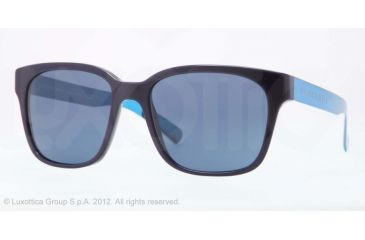 Burberry BE4148 Bifocal Prescription Sunglasses BE4148-339980-55 - Lens Diameter 55 mm, Lens Diameter 55 mm, Frame Color Blue