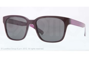 Burberry BE4148 Bifocal Prescription Sunglasses BE4148-340087-55 - Lens Diameter 55 mm, Lens Diameter 55 mm, Frame Color Violet