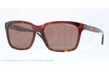 Burberry BE4150 Progressive Prescription Sunglasses BE4150-334973-58 - Lens Diameter 58 mm, Frame Color Havana