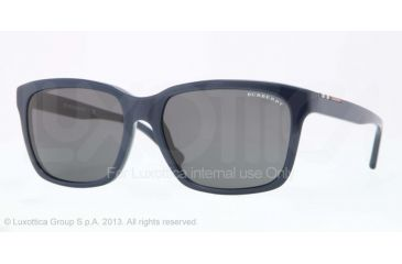 Burberry BE4150 Progressive Prescription Sunglasses BE4150-342287-58 - Lens Diameter 58 mm, Frame Color Blue