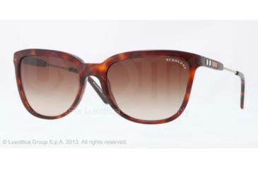 Burberry BE4152 Progressive Prescription Sunglasses BE4152-334913-57 - Lens Diameter 57 mm, Frame Color Havana
