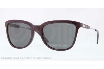 Burberry BE4152 Progressive Prescription Sunglasses BE4152-342487-57 - Lens Diameter 57 mm, Frame Color Violet
