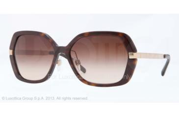 Burberry BE4153Q Progressive Prescription Sunglasses BE4153Q-300213-58 - Lens Diameter 58 mm, Frame Color Dark Havana