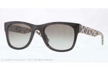 bff138590cc Burberry BE4161Q Sunglasses 300111-53 - Black Frame