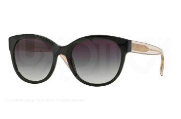 cbbe7d44e6 Burberry BE4187 Sunglasses 35078G-54 - Black Frame