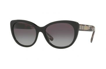 55cf826395e Burberry BE4224 Bifocal Prescription Sunglasses BE4224-30018G-56 - Lens  Diameter 56 mm