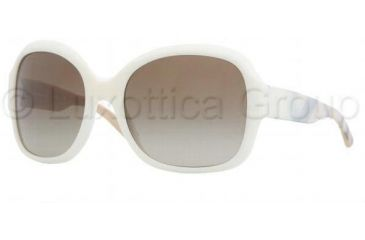 Burberry Sunglasses BE4058M 324413-5718 - White/Cream Brown Gradient