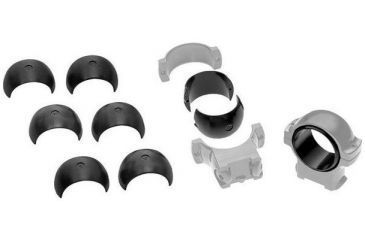 Burris 1 Inch Signature Pos-Align Offset Insert Kit w/ .005In, .010, and .020In