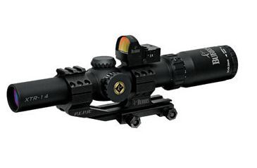 Burris 1x-4x-24mm XTR Xtreme Illuminated Tactical Riflescope with FastFire 201905