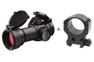 Burris 300205 XTS-135 1X-30mm Xtreme Tactical SpeedDot Sight w/ Burris Xtreme Tactical Picatinny Rail 30mm Riflescope Ring, Single, High 3/4in 420165