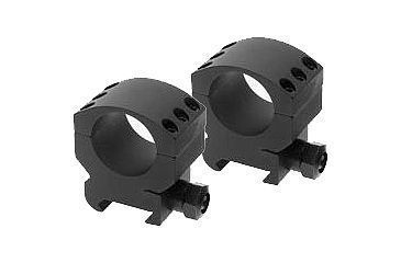 Burris Xtreme Tactical 1in Matte Black Medium 1/2in Height - Two Rings 420181