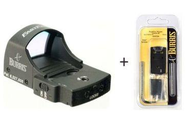 Burris FastFire II 4 MOA Red Dot Reflex Sight w/ Burris FastFire Mounting Plate for Glock