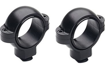 Burris Signature Double Dovetail 30mm Riflescope Ring Pair, Matte Black, Medium 420583