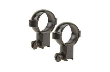 Burris Signature Rimfire/Airgun .22 1 Inch Riflescope High Ring Pair Gloss Black