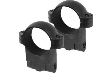 Burris Solid Steel 1 Inch Ring Mount, Low, Gloss Black 420103