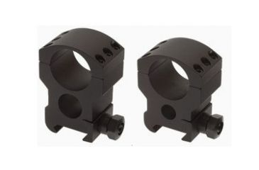 Burris Xtreme Tactical 1 Inch Matte Black Medium 1/2 In Height Two Rings