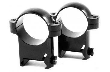 Burris Zee 1in Steel Riflescope Rings,High, Black Gloss 420082