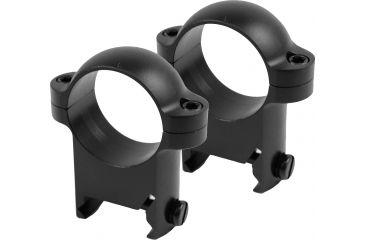 Burris Zee 1in Steel Riflescope Rings Rings - High, Black Matte 420087