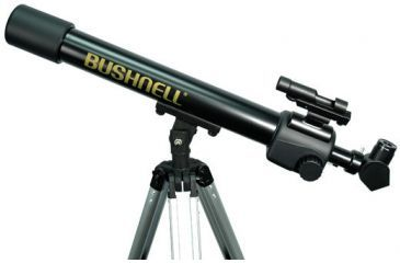 Bushnell 440x60 Voyager Refractor Telescope - Sky & Land Scope with Tripod, Barlow