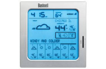 Factory Demo Bushnell Weather-FX 7-Day Weather Forecaster w/out alarm or indoor temp, w/ Full Bushnell Warranty