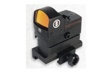 Bushnell AR Optics First Strike, 5 MOA Reflex Red Dot Sight w/ Hi-Rise Mount, Box AR730005