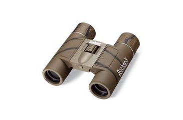 Bushnell Powerview 12x25 Roof Prism Camo Binoculars 131226c