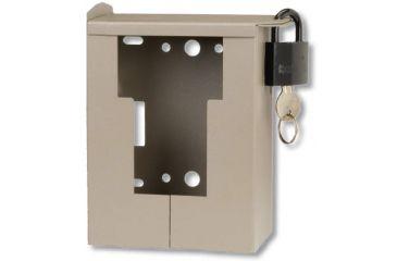 Bushnell Bear Safe Security Case for Trophy Cam Trail Cameras Brown 119653C