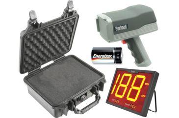 1-OpticsPlanet Exclusive Bushnell Speedster III Multi-Sport Radar Gun w/ LCD Display