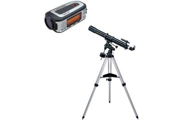 2-PC Sky Viewing Kit - Celestron SkyScout Personal Planetarium and Celestron C4-R Advanced Refracting Telescope
