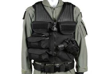 Blackhawk Omega Cross Draw/EOD Vest, Black Color