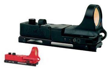 C-MORE Railway Red Dot Sight w/Click Switch, Red, 12 MOA CRWR-12