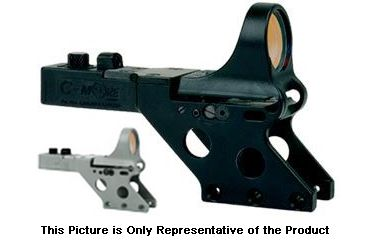 C-MORE Serendipity Red Dot Sight w/Standard Switch,Frame Width .750in,Gray, 12 MOA SL750G-12