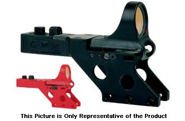 C-MORE Serendipity Red Dot Sight w/Standard Switch,Frame Width .750in,Red, 12 MOA SL750R-12