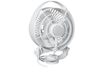 "1-Caframo Maestro 12V 3-Speed 6"" Marine Fan w/LED Light"