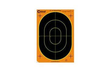 1-Caldwell Orange Peel 12x18in Silhouette Targets