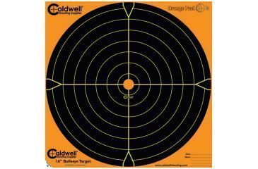 Caldwell Orange Peel Sight-In Paper Targets,16 inch 25 sheets 492603