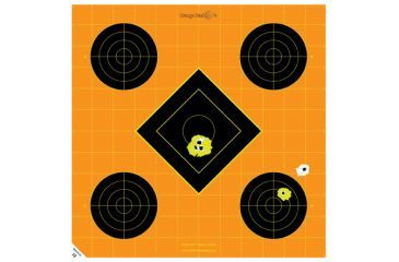 Caldwell Orange Peel Sight-In Paper Targets, 12 inch 100 sheets
