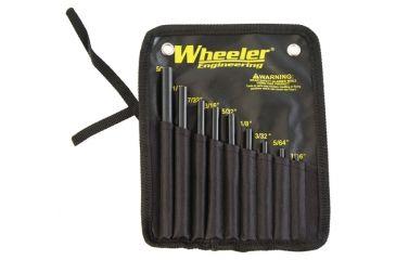 1-Wheeler Fine Gunsmith Equipment Roll Pin Starter Set