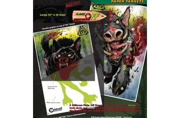Caldwell ZTR Zombie Flake-Off Combo Pack, 10 pk 791577