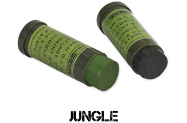 Camcon Face Paint - Jungle: Green & Black - 2 Pack CC61292