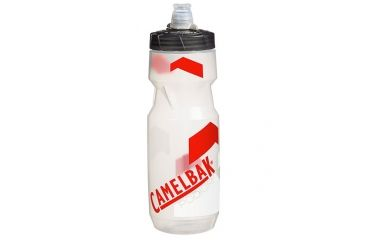 Camelbak CamelBak Podium  24 oz Clear/Racing Red 52274