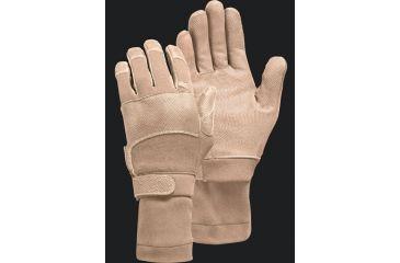 Camelbak Max Grip NT Flight Gloves w/ Sleeve, Desert Tan S